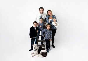 tarifs photographe Brest photo de famille en studio