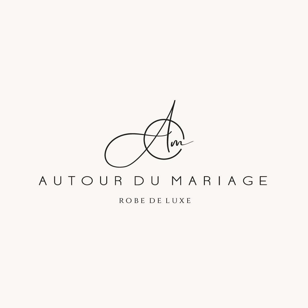 Logo de la prestataire de robe de mariée de Luxe : Autour du Mariage à Gourin dans le Finistère en Bretagnne