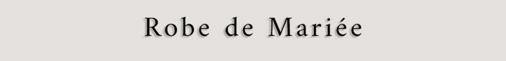 Titre prestataire robe de mariée Finistère Bretagne